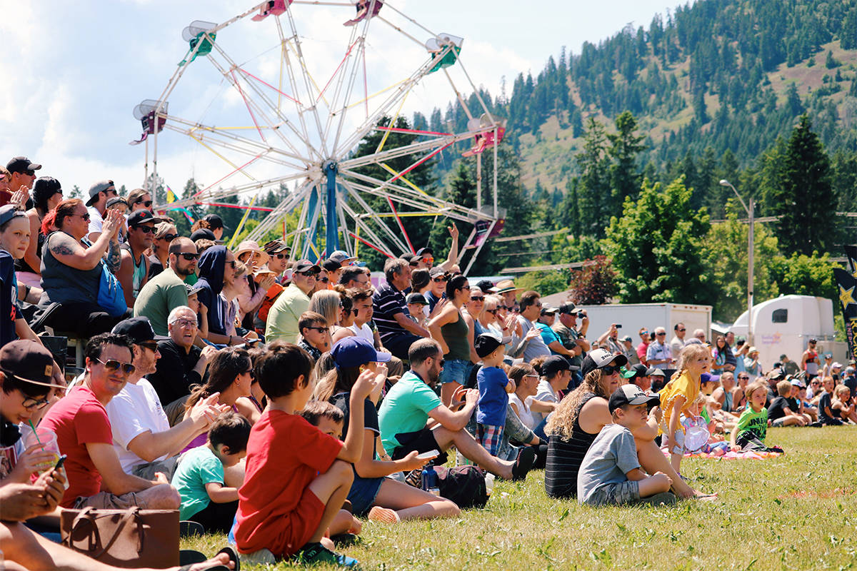 Lumby Days' organizers have announced the 2021 event has been cancelled due to COVID-19. (Morning Star - file photo)
