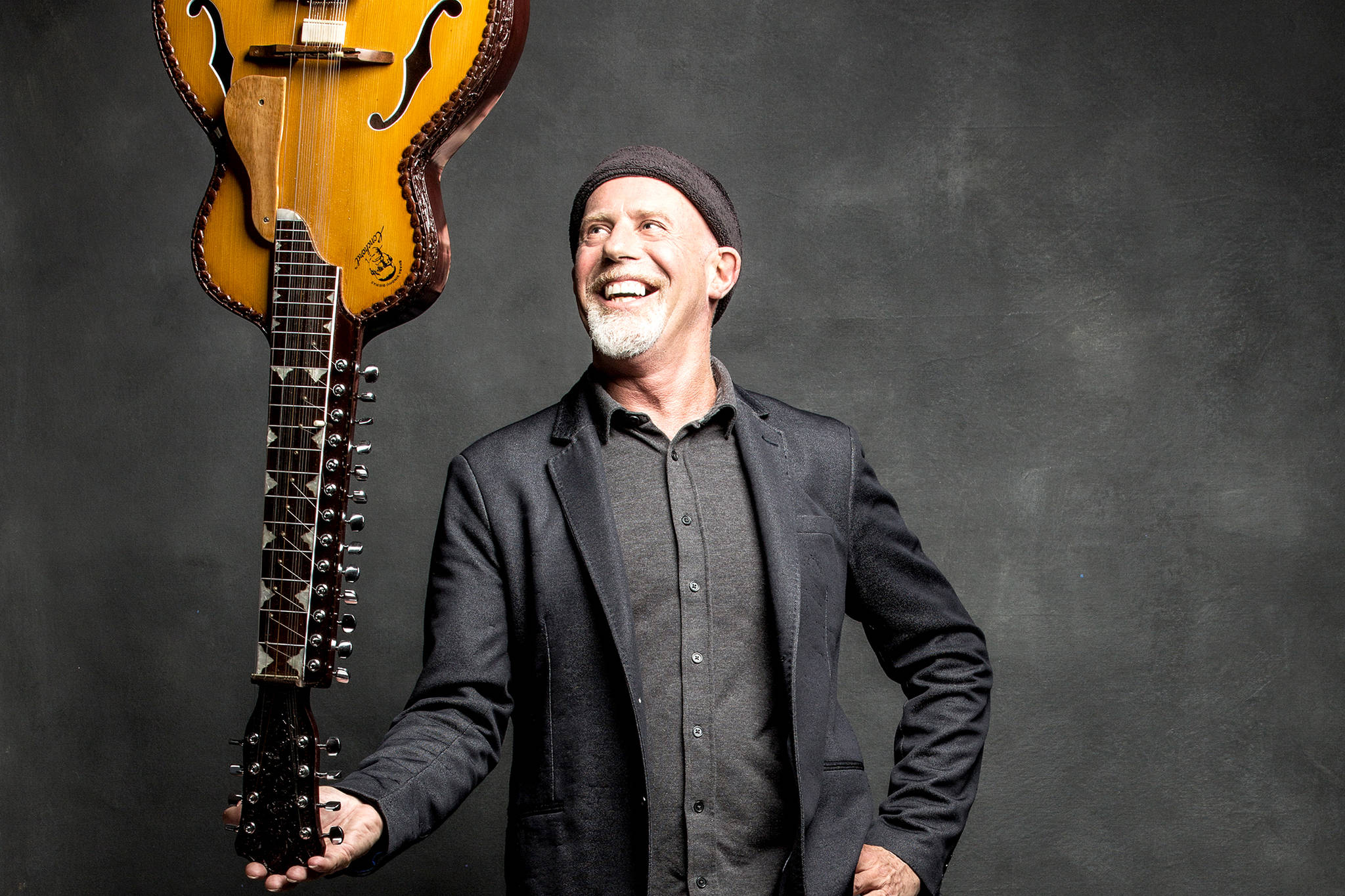 Multi-instrumentalist Harry Manx is slated to take the stage in Vernon for a show in July. (Shimon Karmel photo)